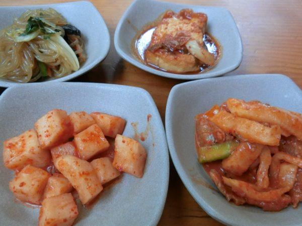 豆林の料理