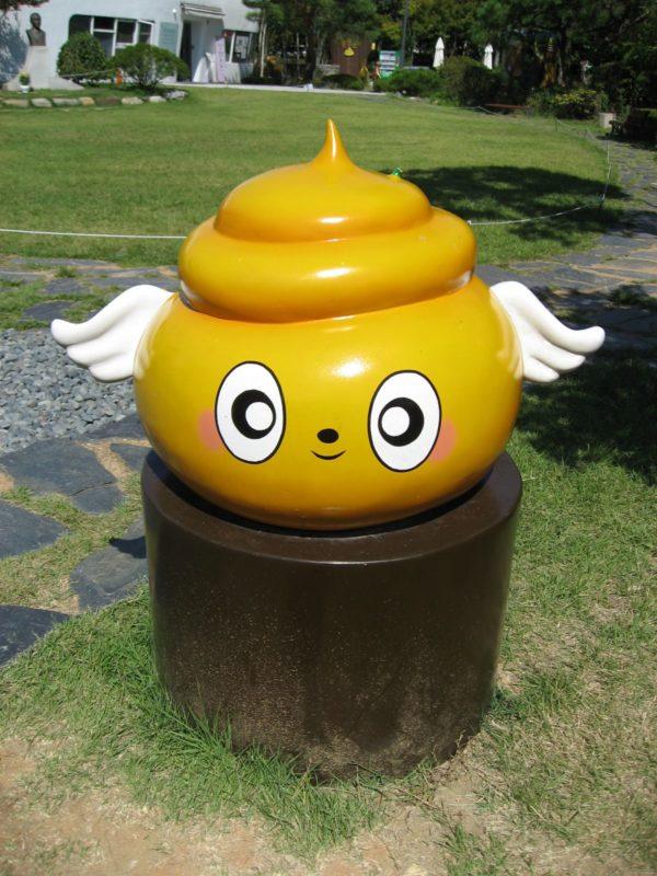 解憂斎のマスコットキャラクター「トーリ」」