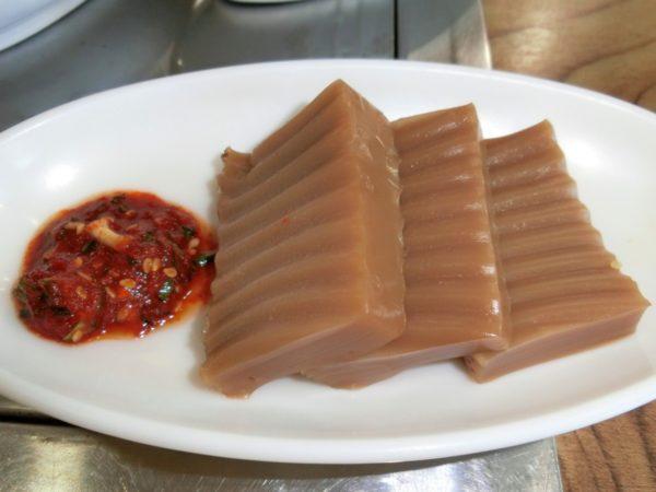 プンチョンジャンオマウルの穴子丼