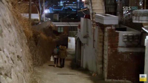 シークレットガーデン キル・ライムの家付近のシーン