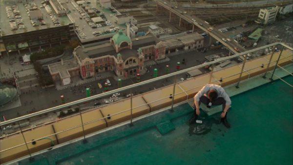 ミセンで映ったソウルスクエア屋上から見えるソウル駅