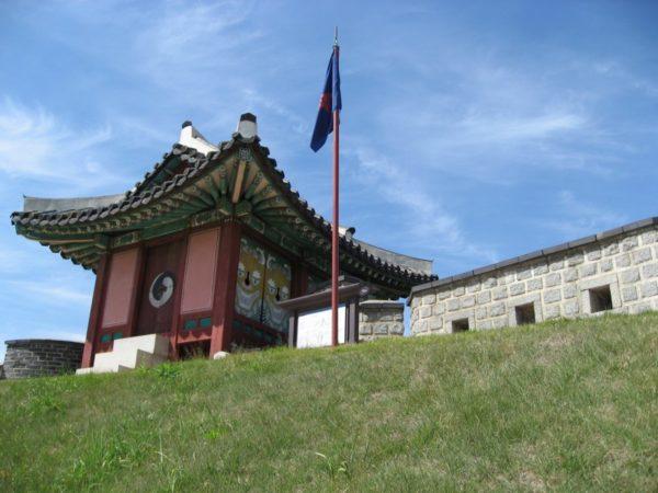 水原華城の東北角楼