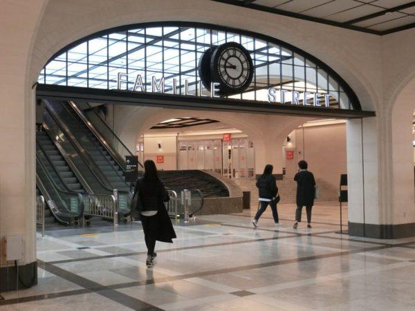 高速バスターミナル駅地下