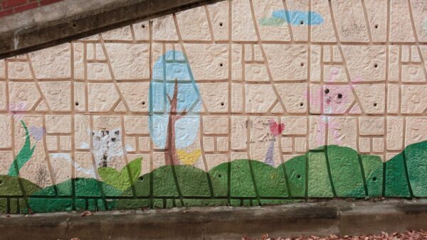 高陽市の一山西区壁画マウル