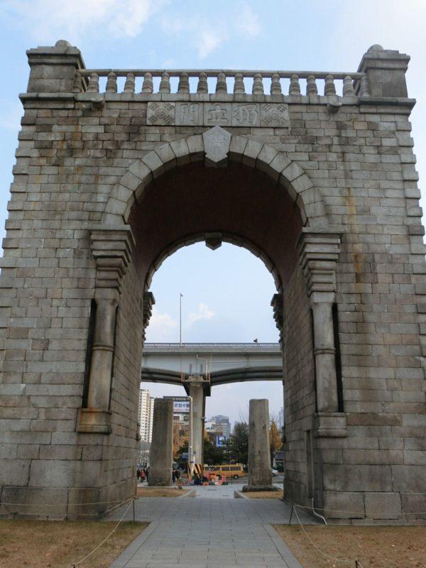 ソウルにある独立門