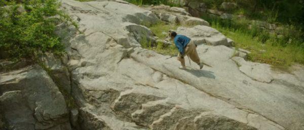 「ミスター・サンシャイン」水聲洞渓谷でのシーン
