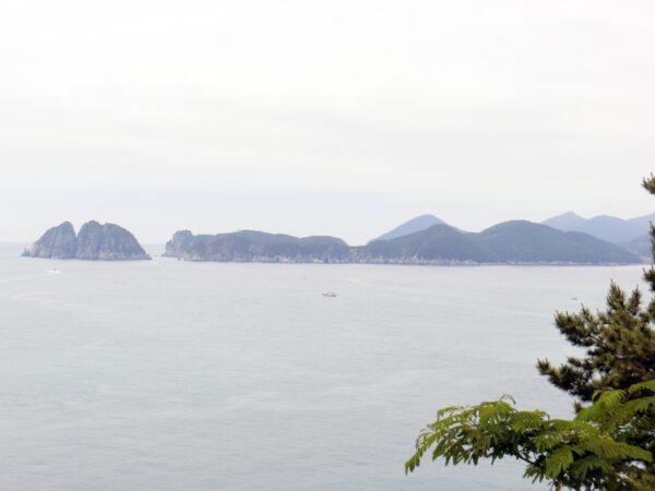 外島ボタニアから見た景色