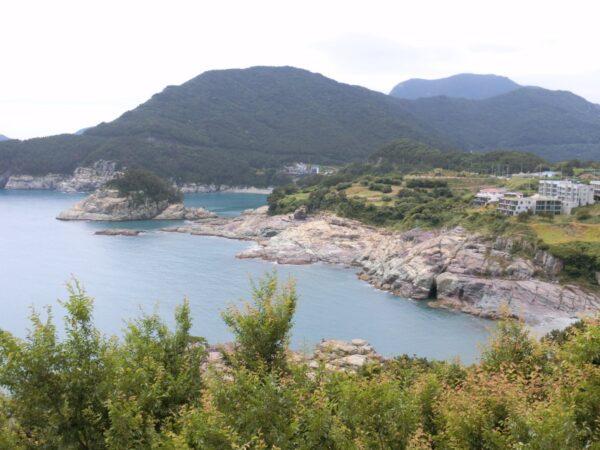 神仙台展望台から見た景色