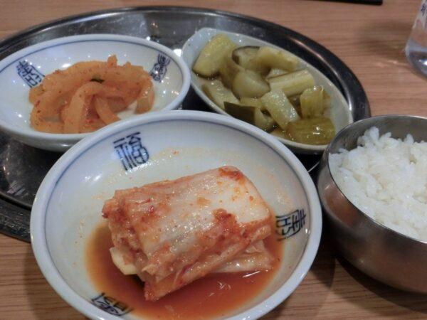 「平家屋」光化門店の料理