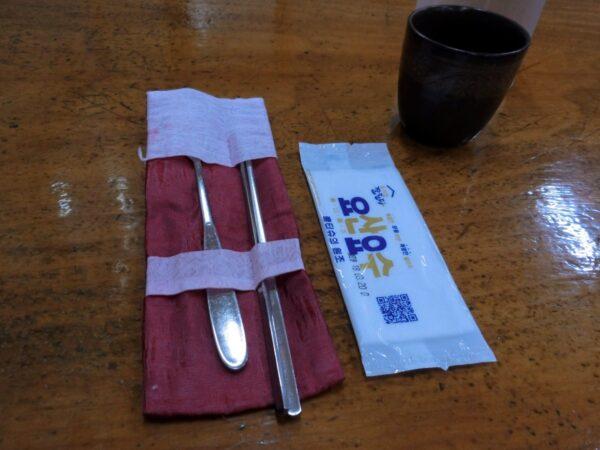 蟾津江シジミスープ専門店の店内