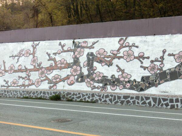 安東市内の壁画