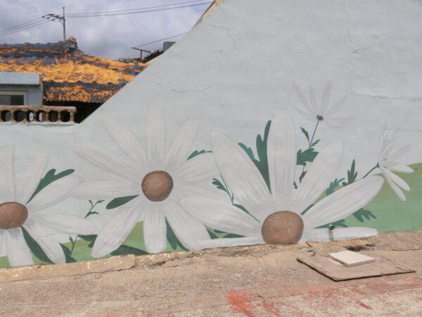 青沙浦壁画マウル