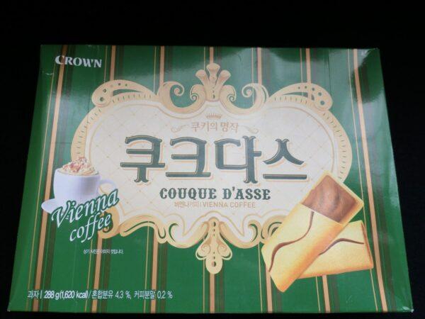 クラウン製菓ククダスのパッケージ