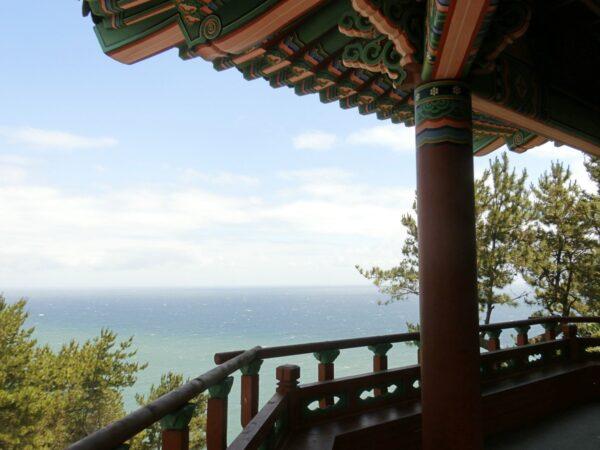 タルマジギルの海月亭から見た景色