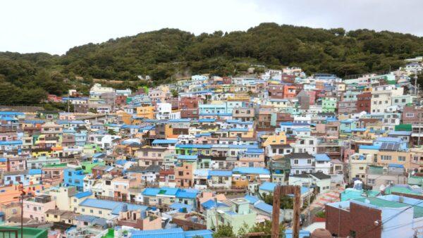 甘川文化村の風景