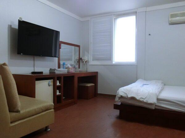 大邱のグッドステイヒロテルの客室