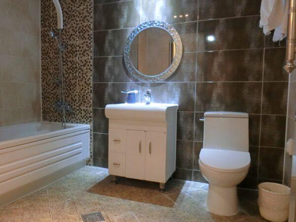 安東の高麗ホテルのバスルーム
