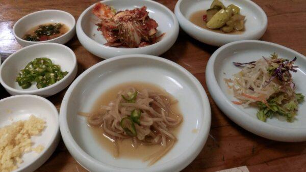 慶尚道チュオタンの料理