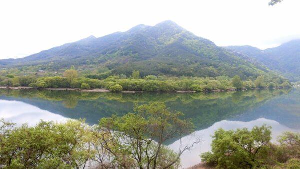 陜川映像テーマパーク入口付近の風景