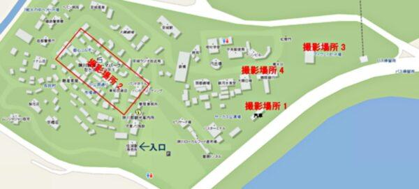 陜川映像テーマパークの地図