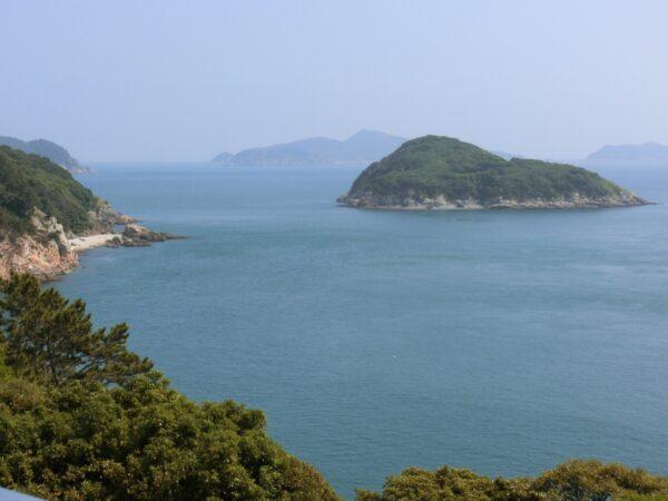 長蛇島からの景色