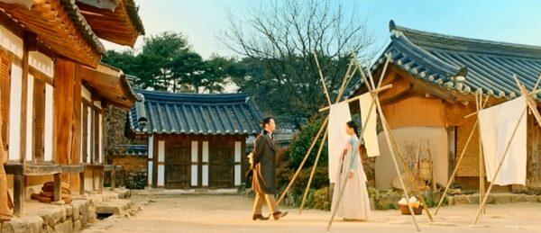 ドラマ「ミスター・サンシャイン」の1シーン