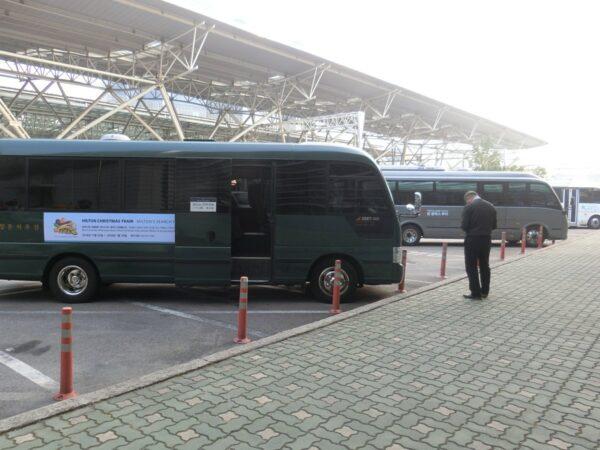 2018年ソウル駅シャトルバス乗り場