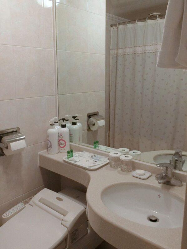 釜山観光ホテルのバスルーム