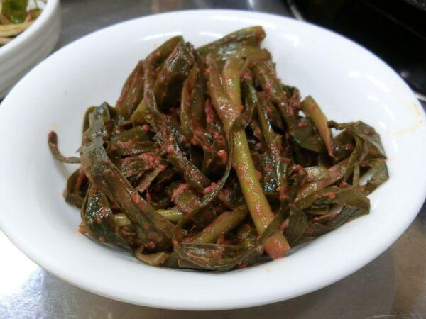 済州島のテアカルビの料理