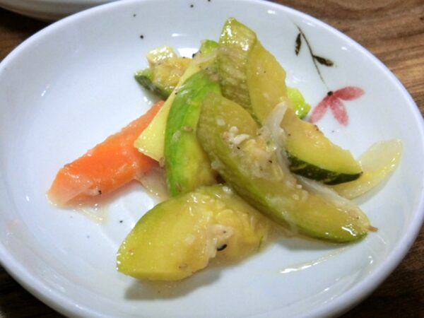 済州島のトヤの料理