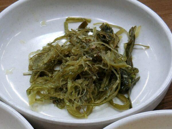 南原のヒョン食堂の料理