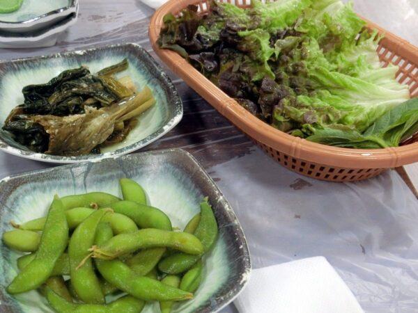 チャガルチ市場で食べた料理