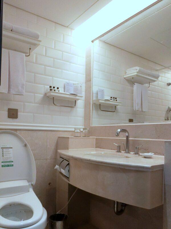 メゾングラッド済州のバスルーム