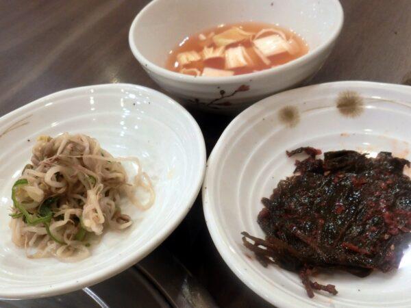 大邱の八道チョングッチャンの料理
