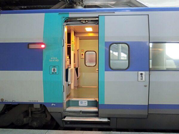 KTXの列車