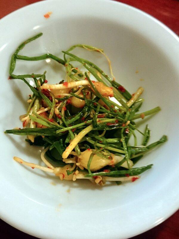 梨泰院のシゴルパッサンの料理