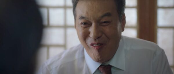 ドラマ「補佐官」の1シーン
